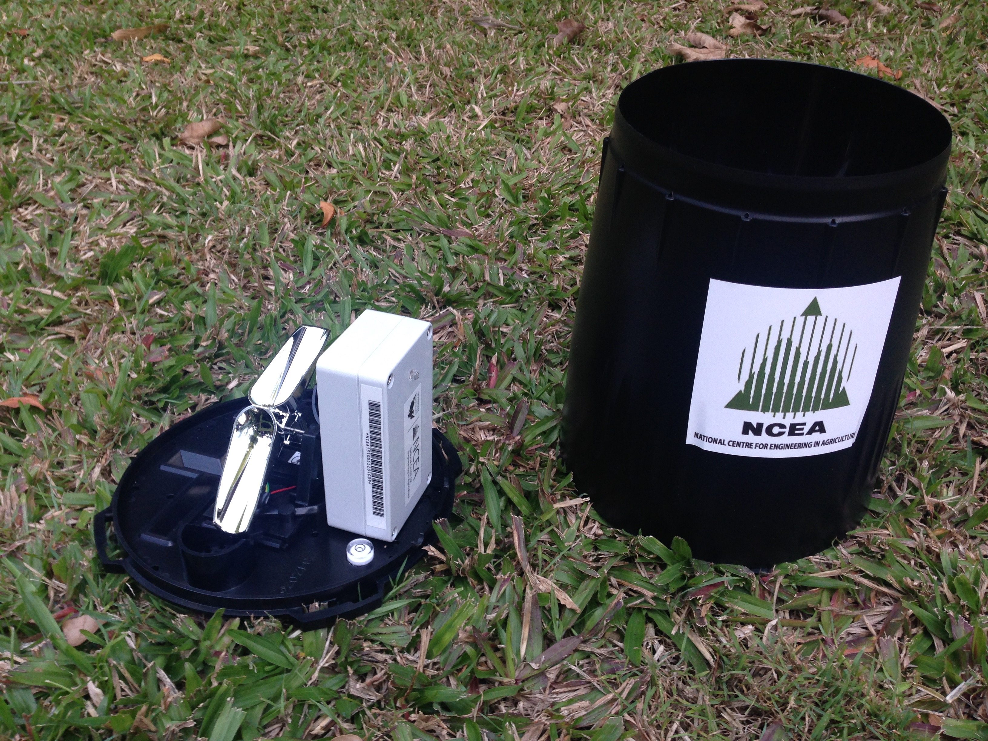 Wireless rain gauge developed for SWApp
